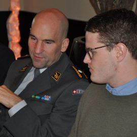 Kaminfeuergespräch mit Brigadier Süssli